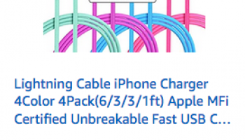 Amazon Save 72% on select Xnewcable products