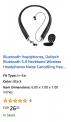 Amazon  Save 50% on select Bluetooth Headphones DolTech products Start